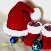 Комплект для фотосессии Новогодний Санта