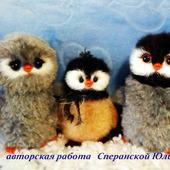 фото: Мастер-классы (вязаный пингвин)