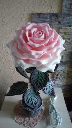Роза-ночник ручной работы на заказ