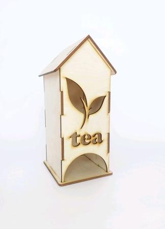 """Заготовка для декупажа - Чайный Домик """"Tea"""" ручной работы на заказ"""