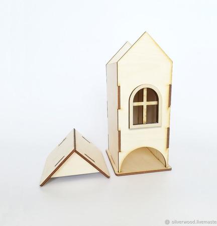 Заготовка для декупажа - Чайный домик с окном ручной работы на заказ