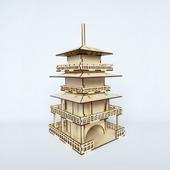 """Заготовка для декупажа - Чайный домик """"Пагода"""""""