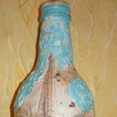 Подарочная бутылка под напитки
