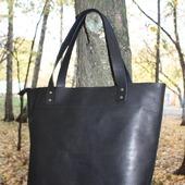 фото: кожаная сумка