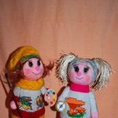 фото: вязаные игрушки