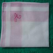 Женский носовой платочек с инициалом А