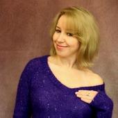 Пуловер Астрид цвета ультрафиолет