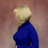 Водолазка королевского синего цвета