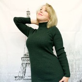 Платье- лапша зеленого цвета