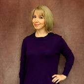 Платье оверсайз цвета ультрафиолет