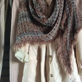 Шарф,,Поздняя осень: рукодельные товары