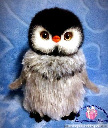 Пингвиненок Лили ручной работы на заказ