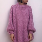 Стильный вязаный мохеровый свитер в Нижнем Новгороде