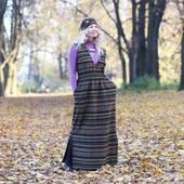 Платье в ретро стиле на осень и зиму
