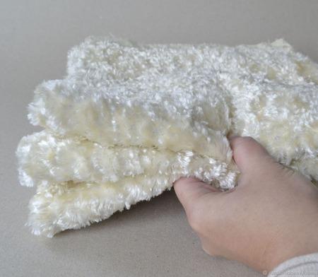 Плюш винтажный ручного окраса №12 ручной работы на заказ