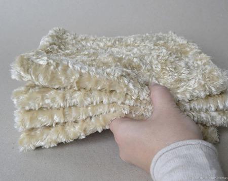 Плюш винтажный ручного окраса №9 ручной работы на заказ
