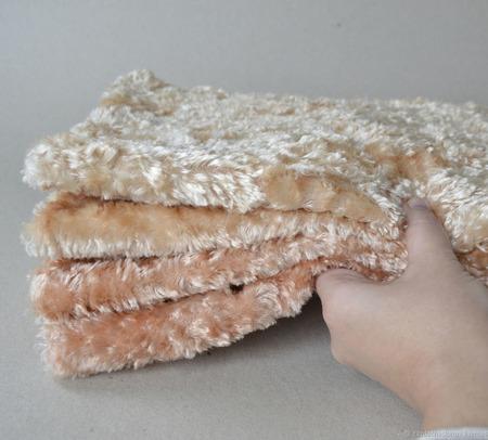 Плюш винтажный ручного окраса №8 ручной работы на заказ