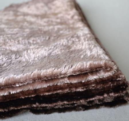 Плюш винтажный ручного окраса №6 ручной работы на заказ