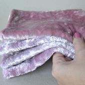 Плюш винтажный ручного окраса №5