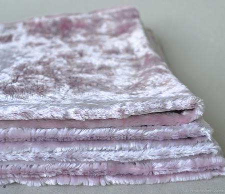 Плюш винтажный ручного окраса №5 ручной работы на заказ