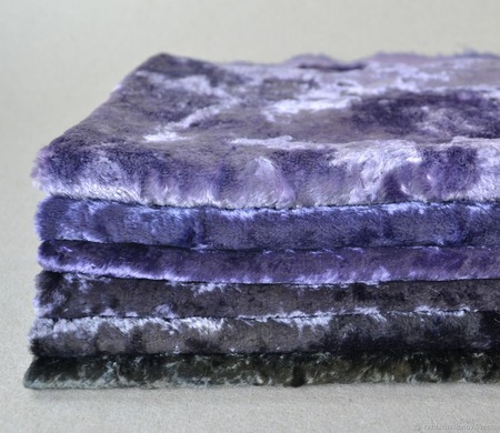 Плюш винтажный ручного окрашивания №7 ручной работы на заказ