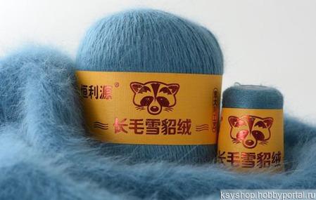 Пряжа норка (Китай) ручной работы на заказ