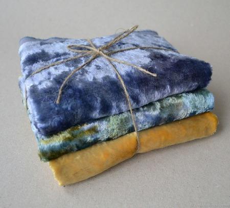 Набор винтажного плюша №2 ручной работы на заказ