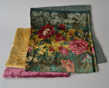 Набор винтажного плюша №1 ручной работы на заказ