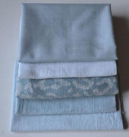 """Набор тканей ручного окраса """"Волна"""" ручной работы на заказ"""
