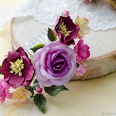 фото: Украшения (бумажные цветы)