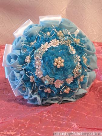 Букет-дублёр для невесты ручной работы на заказ