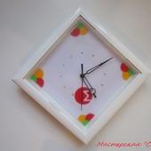 """Часы настенные с логотипом """"Монро"""""""