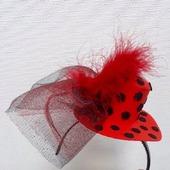 Шляпка-цилиндр на ободке