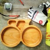 Тарелка из дерева Tour de France