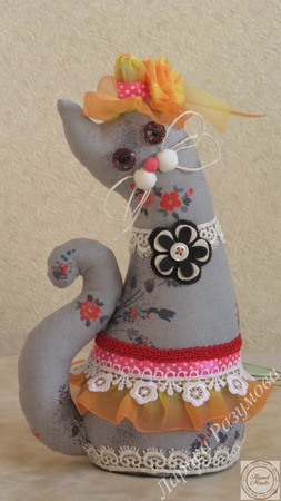 Мурочка-мечтательница ручной работы на заказ