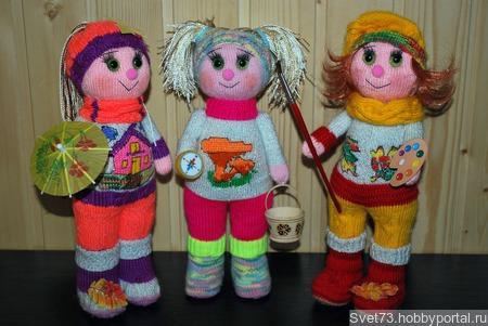 Осенние девчули ручной работы на заказ