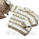 Пуловер меланжевый для мальчика