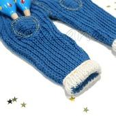 Трикотажные штанишки для малыша
