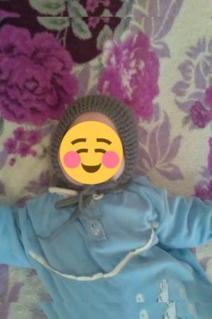 Чепчик для новорождённого ручной работы на заказ