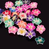 Бусины цветы