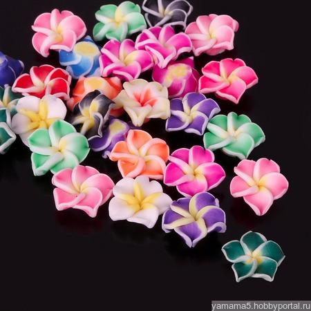 Бусины цветы ручной работы на заказ