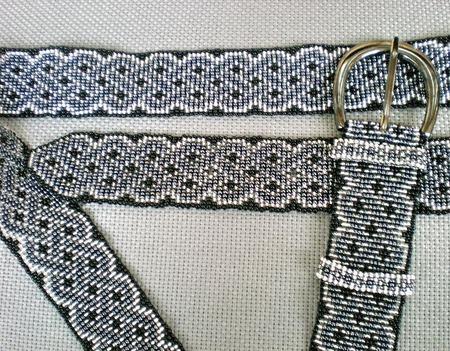 Ремень с кельтским орнаментом ручной работы на заказ