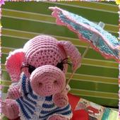 Описание игрушки Свинка в стрингах