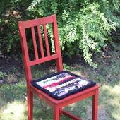 Сидушка-подстилка на стул табурет