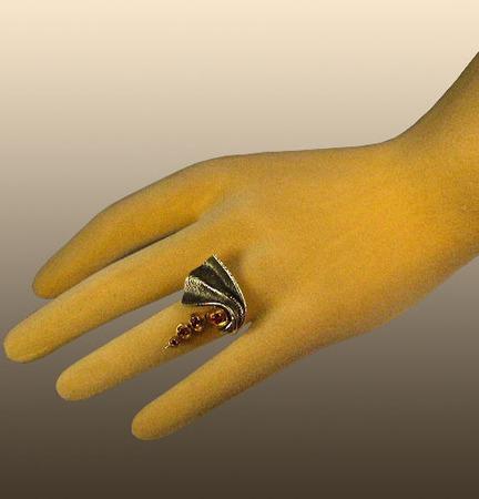 """Серебряное кольцо """"Ветер"""" ручной работы на заказ"""