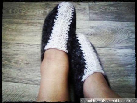 Следки теплые шерсть овечья +козий пух Урюпинский ручной работы на заказ