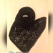Вязаный шарф (палантин)