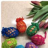 Мешочки для пасхальных яиц