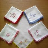 Детские носовые платочки