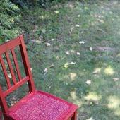 Сидушка-подстилка на стул табурет 2